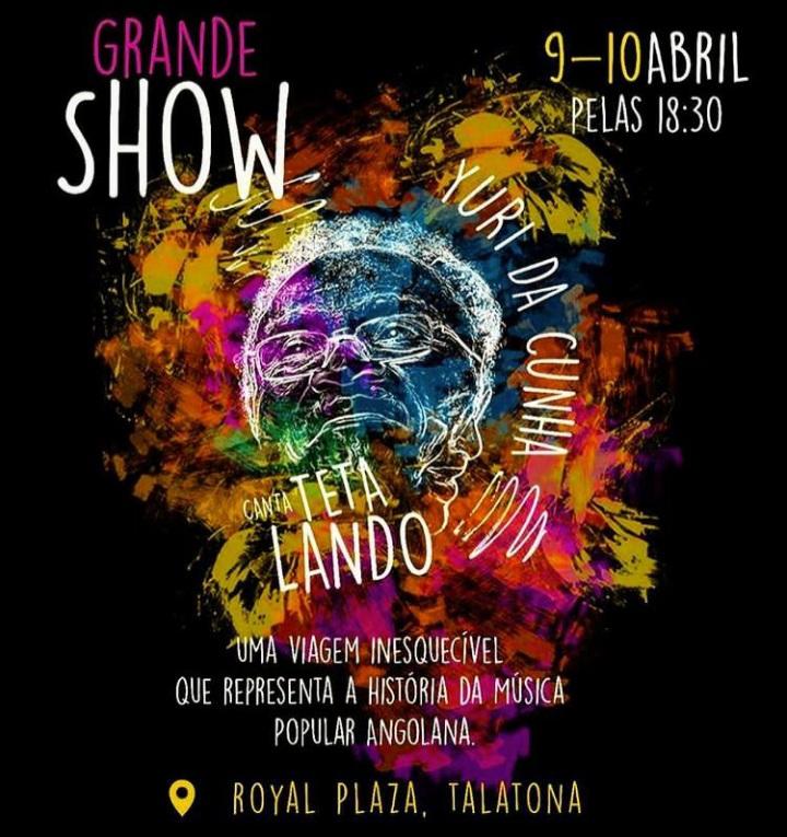 """Yuri da Cunha detalha Show """"Cantar Teta Lando"""" em conferência de imprensa"""