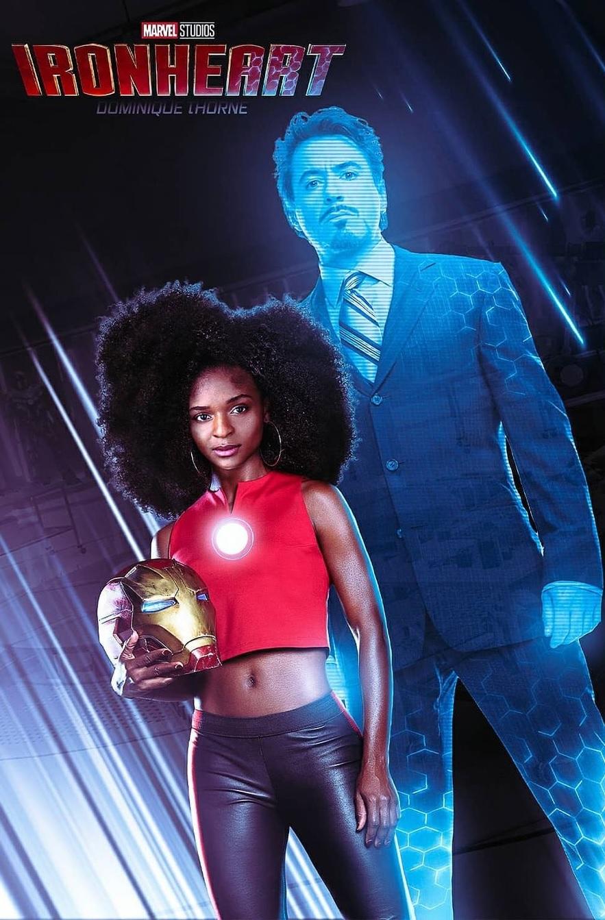 Iron Heart: Nova heroína da Marvel fará primeira aparição no filme Pantera negra 2