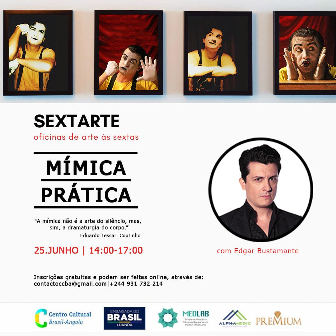 Centro Cultural do Brasil em Angola anuncia oficina de Mímica Prática