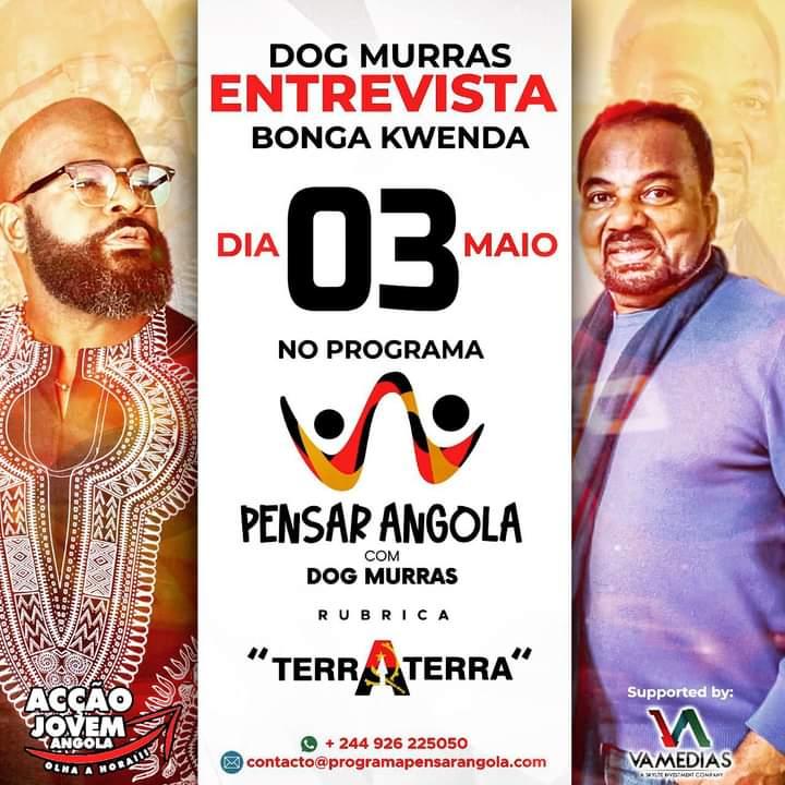 Dog Murras e Bonga programam encontro histórico