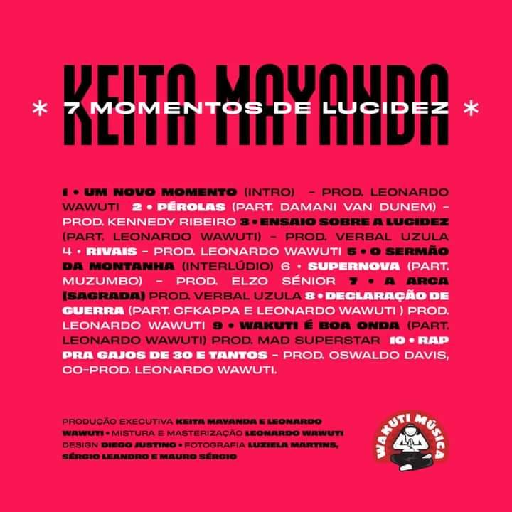 """Keita Mayanda: """"Ao contrário do que algumas pessoas pensam, o Rap está de saúde"""""""