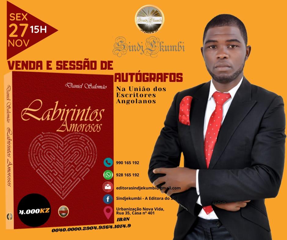 Daniel Salomão apresenta 'Labirintos Amorosos'