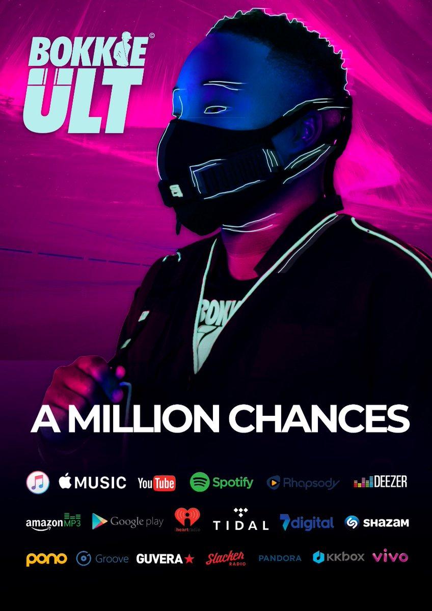 Sul-africano Bokkieult lança A Million Chances, um álbum que comunica com os angolanos