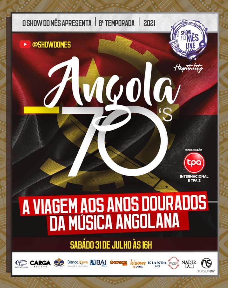 Angola 70's: Show do Mês recria período dourado da música angolana