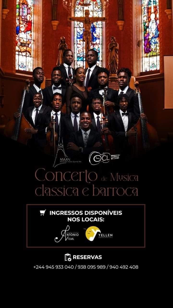 """Orquestra Camerata de Luanda """"Renasce"""" em concerto intimista"""