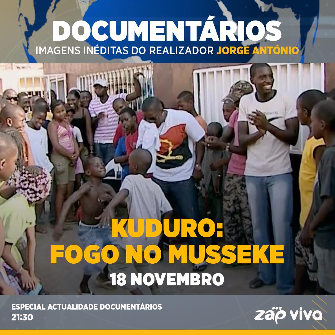 Zap Viva exibe documentário de Kuduro `Fogo no Musseque´
