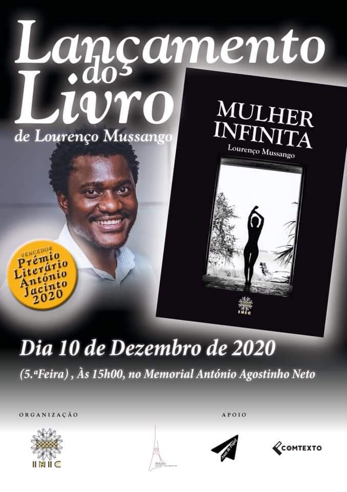 """""""Mulher Infinita"""" de Lourenço Mussango chega às bancas esta semana"""
