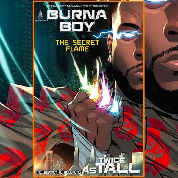 Burna Boy apresenta detalhes do seu novo álbum produzido por P. Diddy