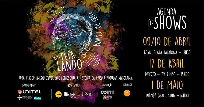 """Yuri da Cunha: """"Mais do que lançar um disco, quero ajudar a contar a história musical de Angola"""""""