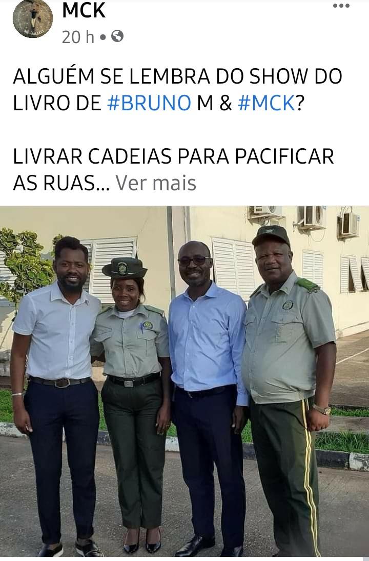 MCK dará aulas aos reclusos