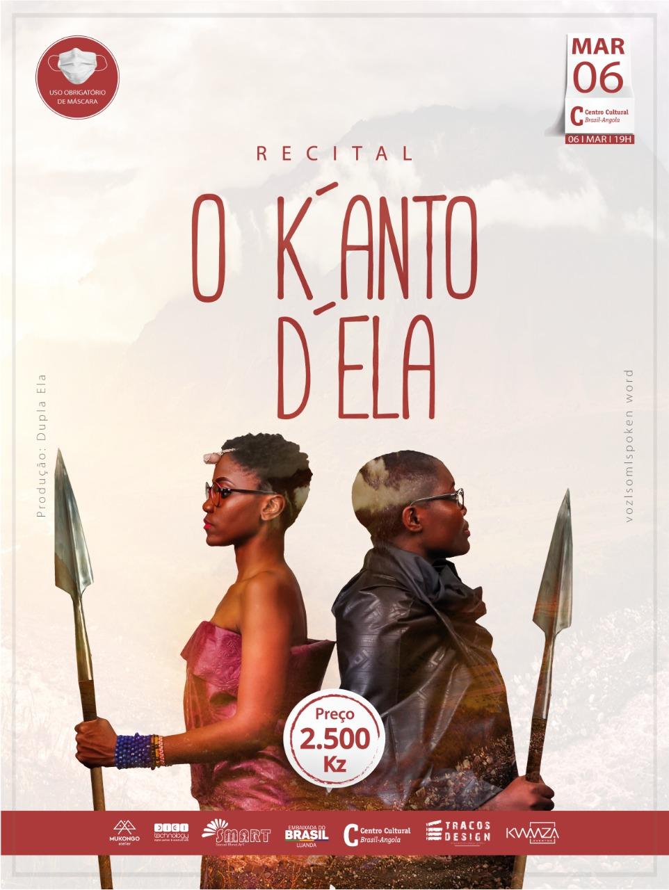 Dupla Ela abre agenda cultural de 2021 com o recital `O Kanto D´Ela´