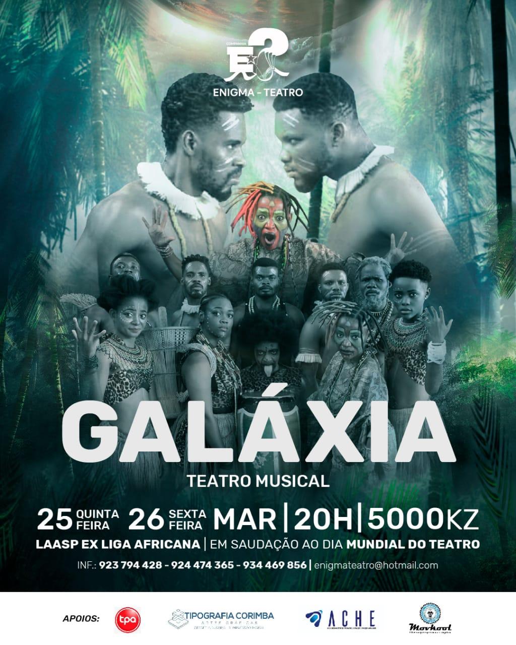 Galáxia, o espectáculo de teatro musical que pretende despertar o angolano da lobotomia